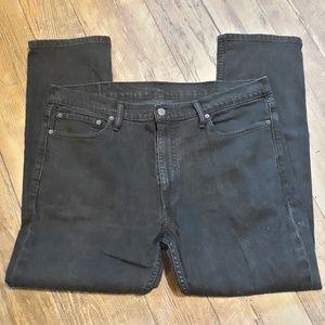 Mens Levi's 511 slim fit stretch Jeans Black 38X30